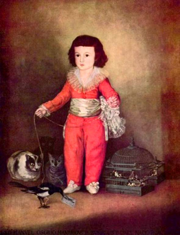 Boy-with-Cats-Francisco-de-Goya