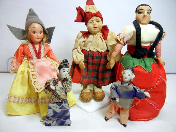 Soviet Union Vovonej Doll