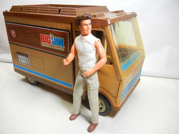 Mattel's Big Jim Sports Camper