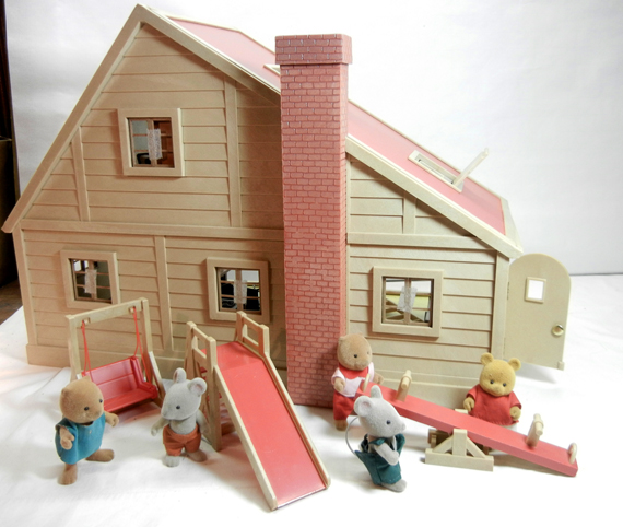 Youngsters from the Sylvanian Families