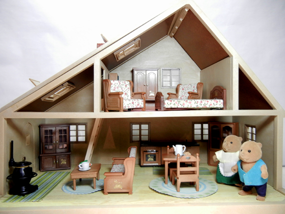 Inside the Sylvanian Families