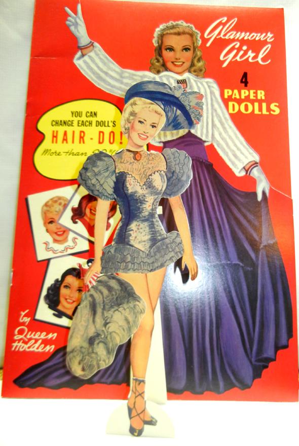 World War II Paper Dolls