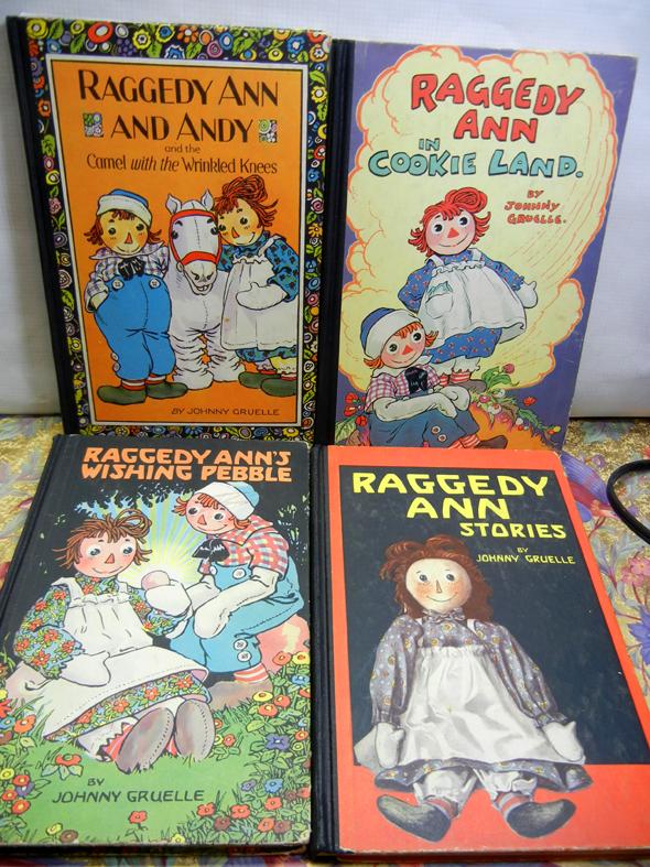Raggedy Ann Books
