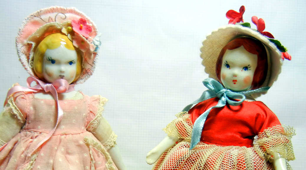Godey's Little Lady dolls